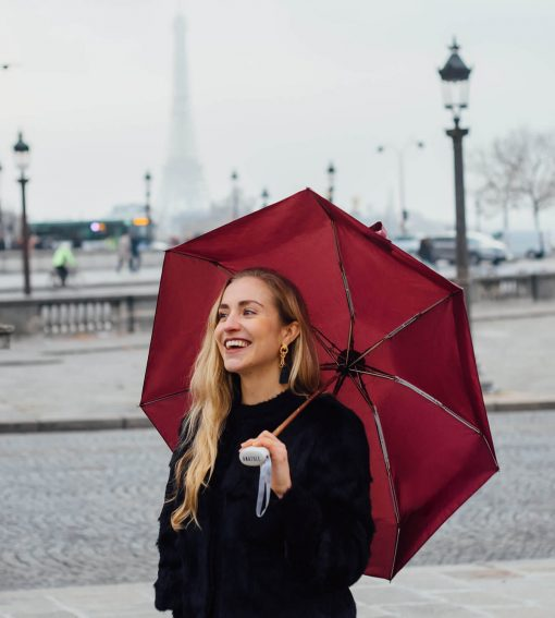 Anatole-burgundy-umbrella-in-paris