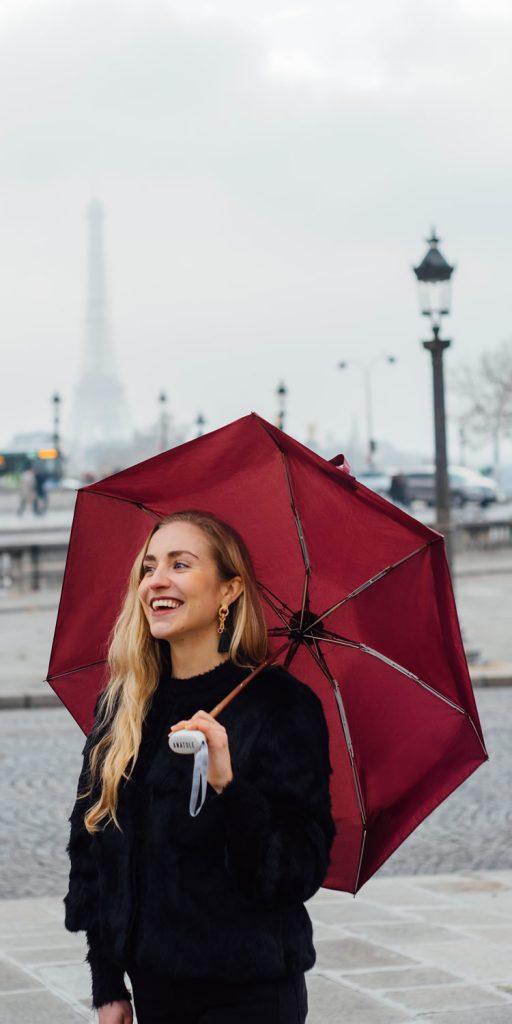 Parapluie femme place Concorde - Anatole