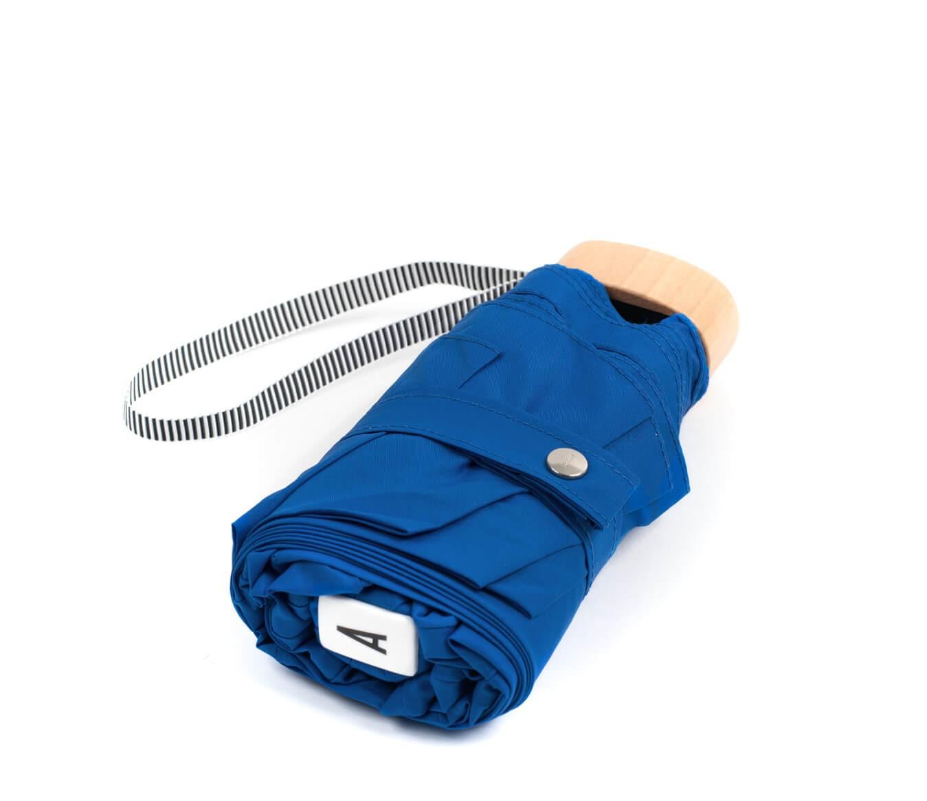 Parapluie pliant bleu roi - Anatole