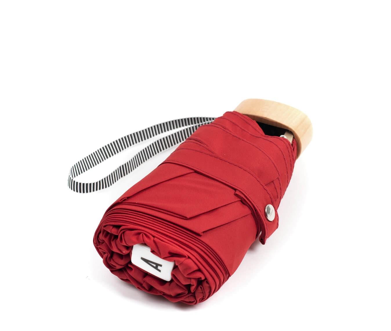 Parapluie pliant rouge - Anatole