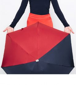 bicolor-folding-umbrella-navy-red-Anatole
