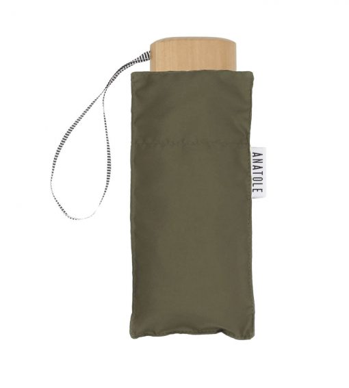 Khaki mini umbrella - Anatole foldable umbrella