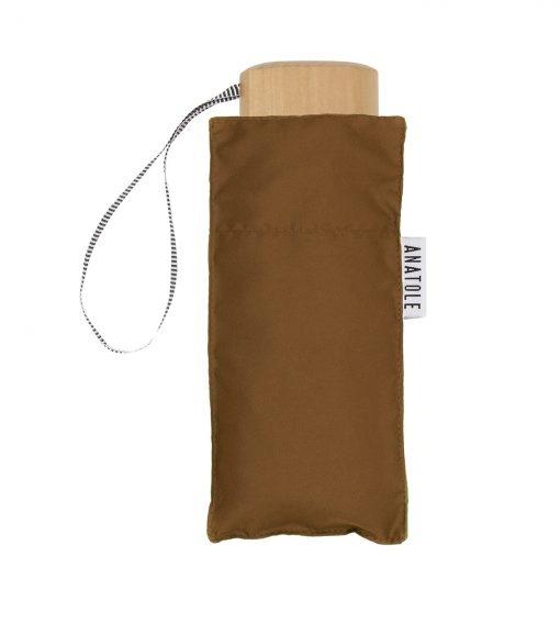 Brown mini umbrella - Anatole foldable umbrella