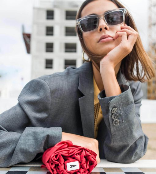 mini parapluie rouge modèle femme - Anatole