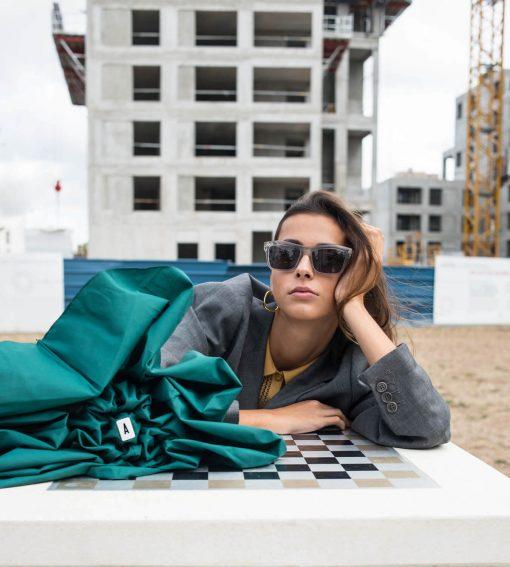 mini parapluie vert modèle femme - Anatole
